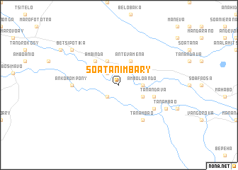 map of Soatanimbary