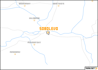 map of Sobolevo