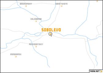 map of Sobolevo