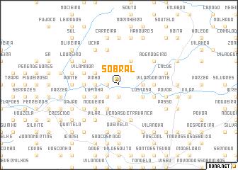 Sobral Portugal Map Nonanet - Sobral map
