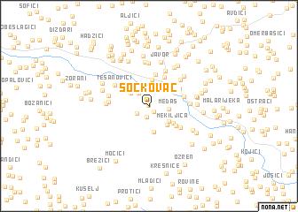 map of Sočkovac