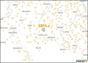 map of Sofilj