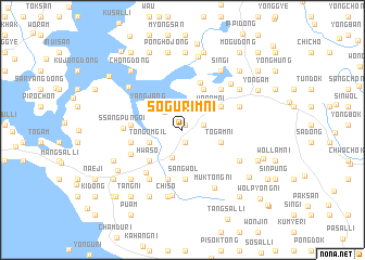 map of Sŏgurim-ni