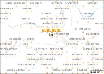 map of Sohlberg