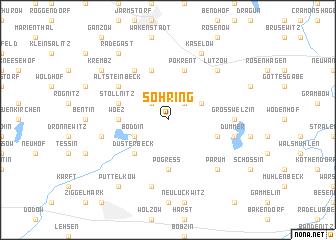 map of Söhring