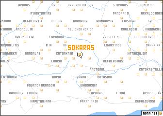 map of Sokarás