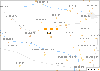 map of Sokhinki
