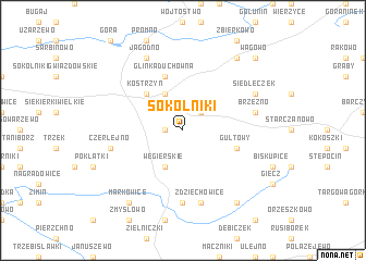map of Sokolniki