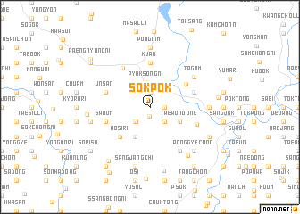 map of Sŏkpok