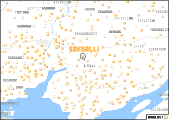 map of Soksal-li
