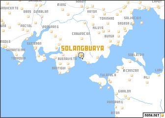 map of Solangbuaya