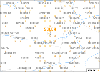 map of Solca