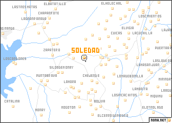 map of Soledad