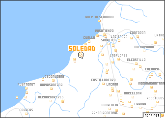 Soledad Colombia map nonanet