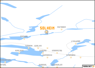 map of Solheim