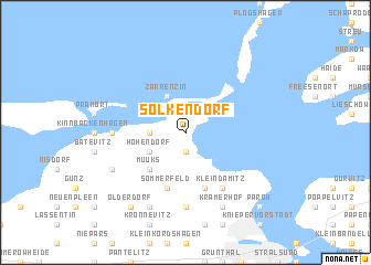 map of Solkendorf
