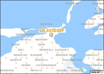 map of Solkendorf