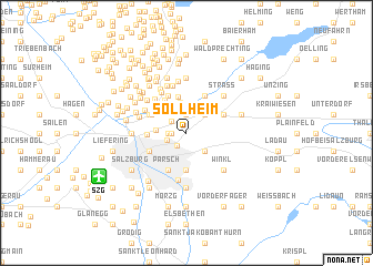 map of Söllheim