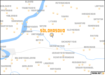 map of Solomasovo