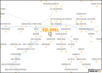 map of Solomel\
