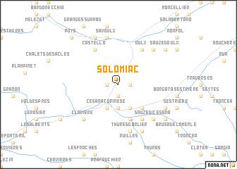 map of Solomiac