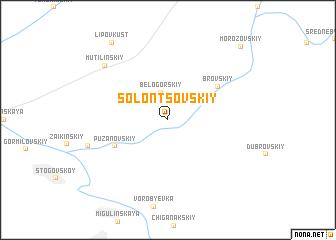 map of Solontsovskiy