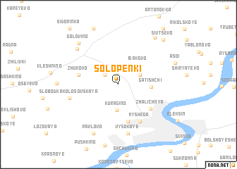 map of Solopenki