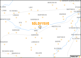 map of Solov\