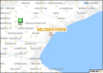 Solrd Strand Denmark map nonanet