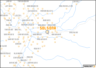 map of Solsona