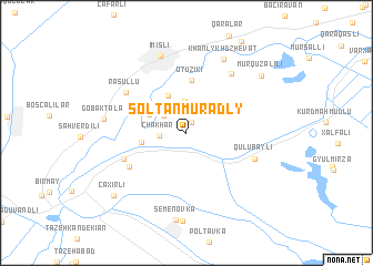 map of Soltanmuradly