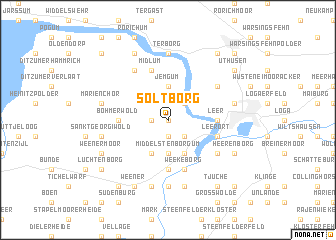 map of Soltborg