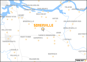 map of Somerville