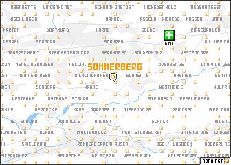 map of Sommerberg