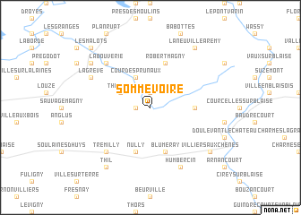 map of Sommevoire