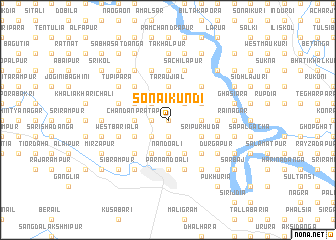 map of Sonāikundi