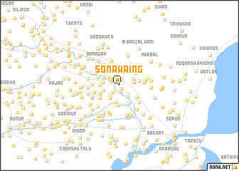 map of Sonawaing
