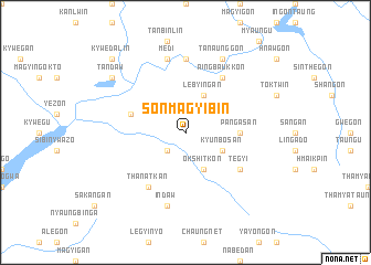 map of Sonmagyibin