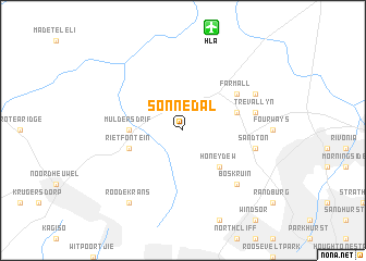 map of Sonnedal