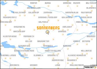 map of Sonnenberg