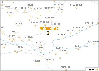 map of Soovälja