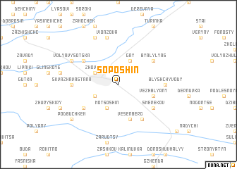 map of Soposhin