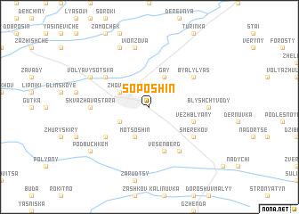 map of Soposhin