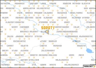 map of Sopoty