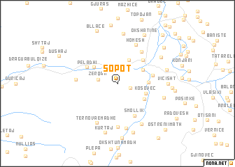 map of Sopot