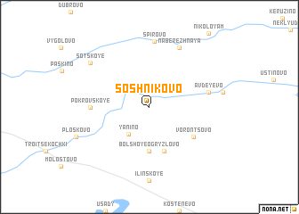 map of Soshnikovo