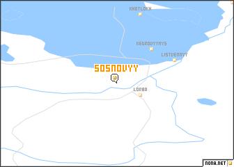 map of Sosnovyy