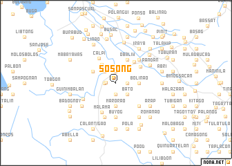 map of Sosong