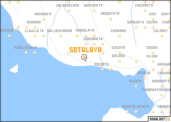 map of Sotalaya