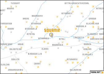map of Souanir